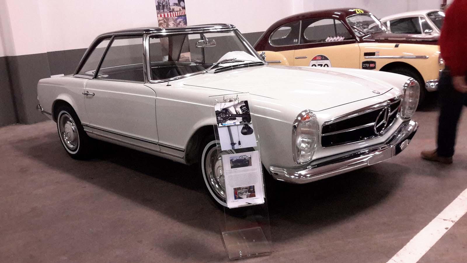 Mercedes W 113 Pagoda 230SL fehér (1963)