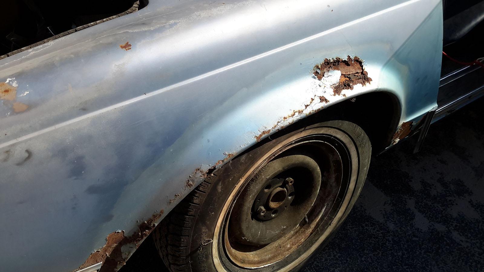 Mercedes W113 Pagoda 280 SL kék (1969)