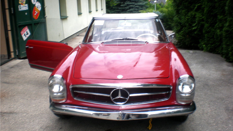 Mercedes pagoda W113 230SL barna pezsgő