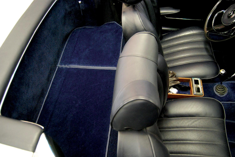 Mercedes 230 SL W113, Pagoda,trezor